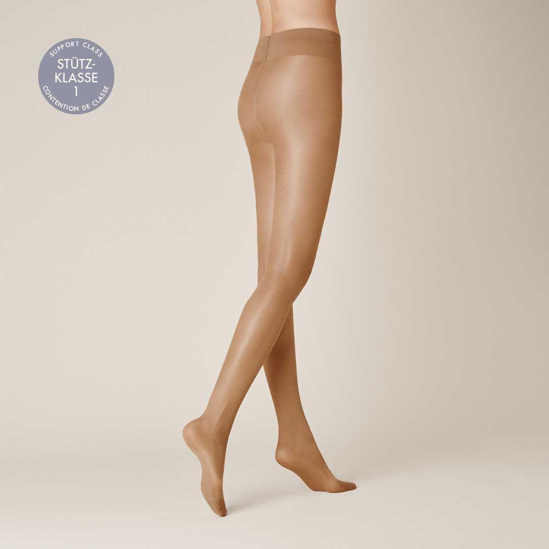 LEG CONTROL 40  Stützende glänzende Komfort-Strumpfhose - KUNERT