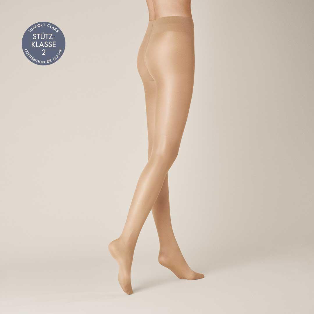 LEG CONTROL 70  Stützende, glänzende Komfort-Strumpfhose - KUNERT