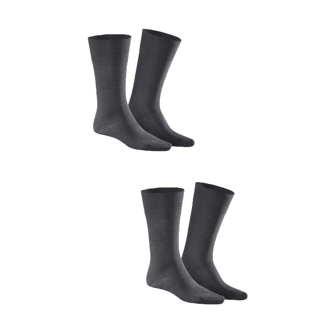 COMFORT COTTON 2-PACK  Herren Socken im Doppelpack mit hohem Baumwoll-Anteil - KUNERT