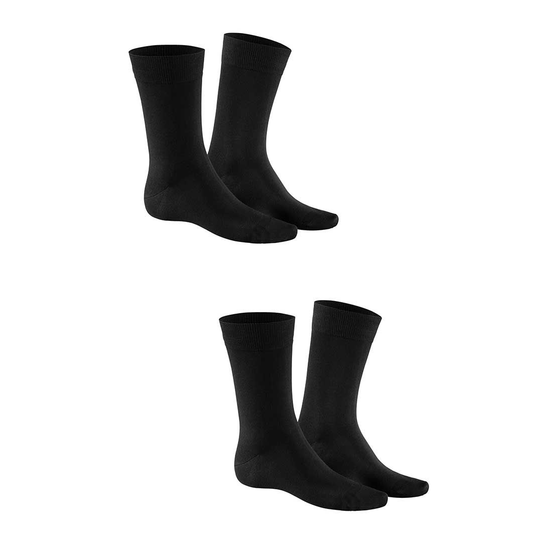 COMFORT COTTON MERCERISED 2-PACK  Herren Socken Doppelpack zum Vorteilspreis - KUNERT