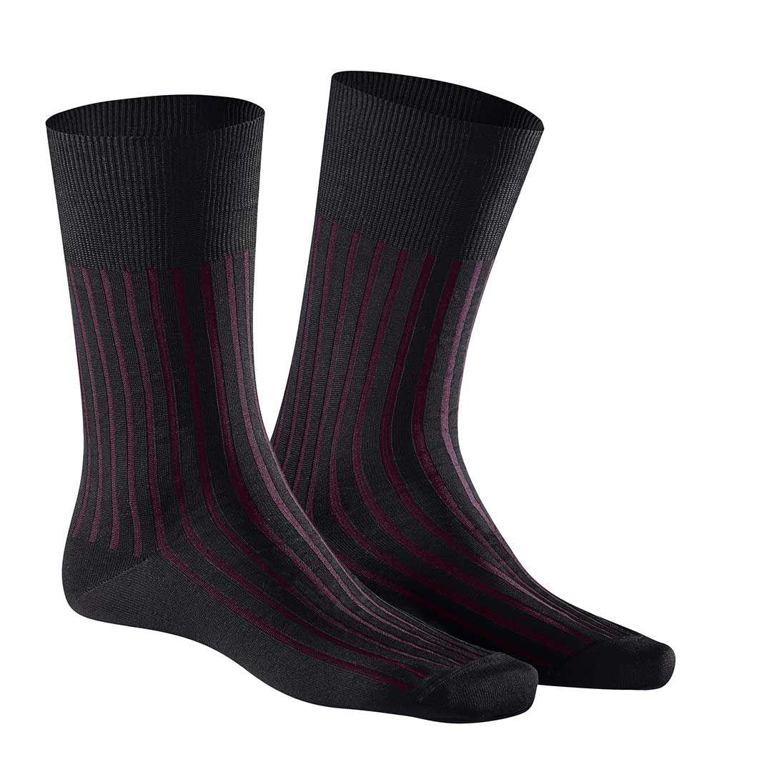 New York City Style  Herren Socken mit farbigen Rippen - KUNERT