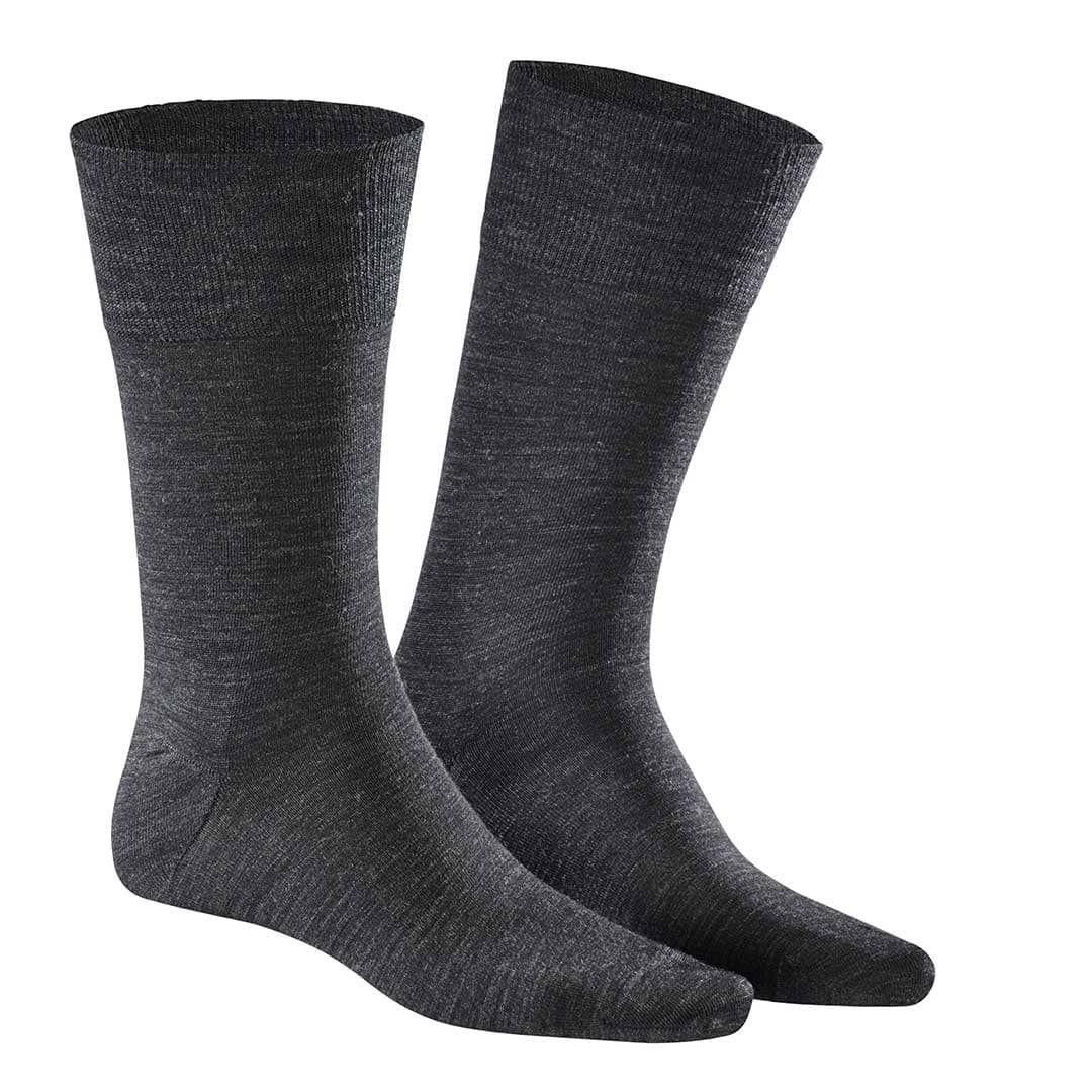 Finest Cotton & Merinowool  Feinste Herren Socken aus Baum- und Merinowolle - KUNERT