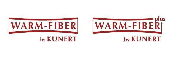 KUNERT WARM UP Thermo Strumpfhosen, WARM-FIBER Logo, WARM-FIBER PLUS Logo